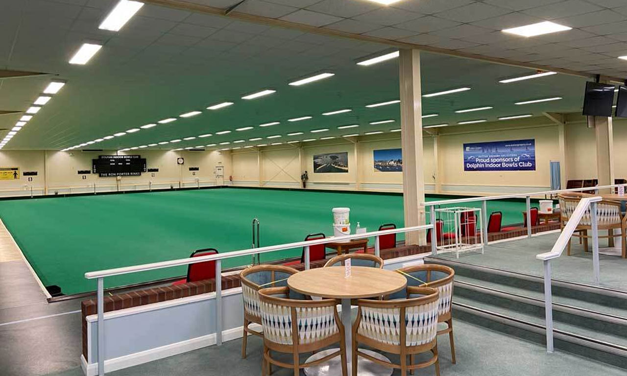 Dolphin Indoor Bowls Club Dining Area